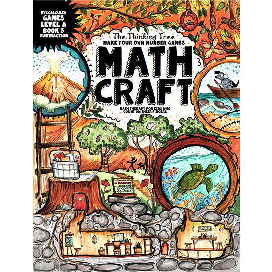Math Craft |  Level A-3 Dyscalculia Games - Make Your Own Number Games - PDF