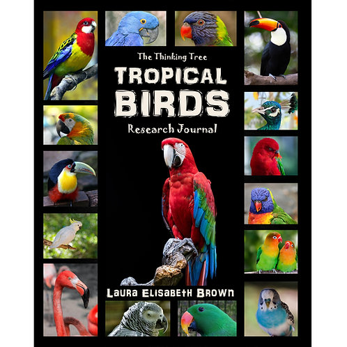 Tropical Birds Research Journal - With Colorful Photography - PDF
