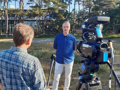 FNF förklarar i SVT Morgonstudion varför kampen om naturum är viktig