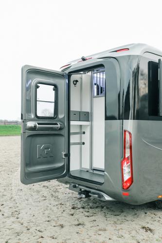 Opel Movano, dubbele cabine, hengsten
