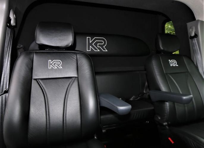 Renault Master, dubbele cabine, hengsten