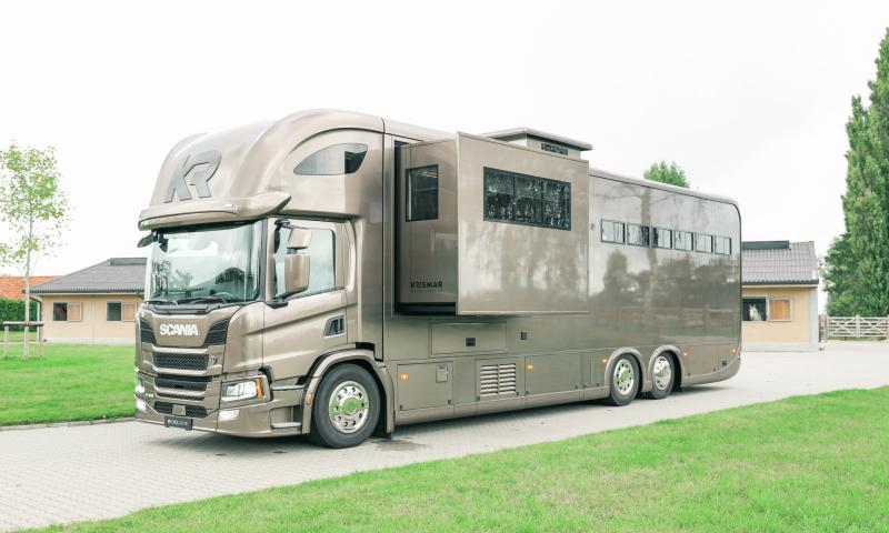 Scania P410, 6 paarden