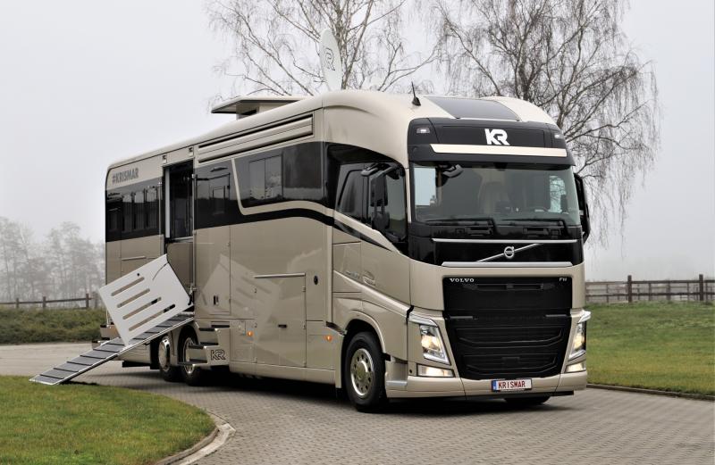 Volvo FH XL460, 6 paarden
