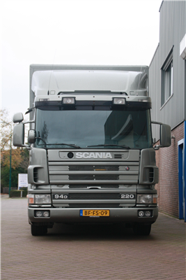 Scania 94D, 3 paards