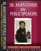 Dr. Ana's Public Speaking - Complete Cov