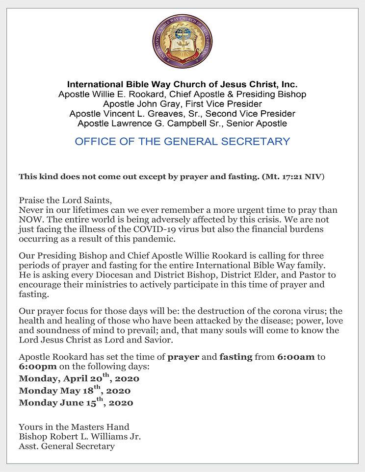 International Bible Way Church of Jesus