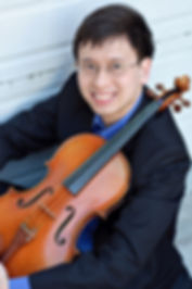 Violist and Violin/Viola Pedagogue Jonathan (Yizhi) Lee, Singapore