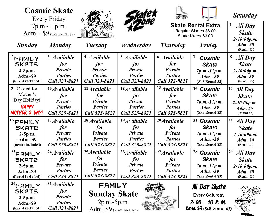 Skate Odyssey of Starkville May 2021_pag
