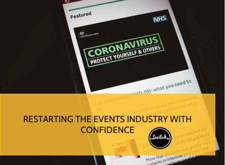 Re-starting the events industry with confidence