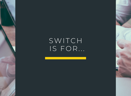 Switch isn't just for booking...