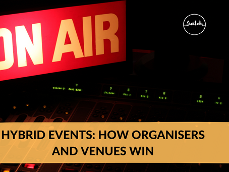 Hybrid events: how organisers and venues win
