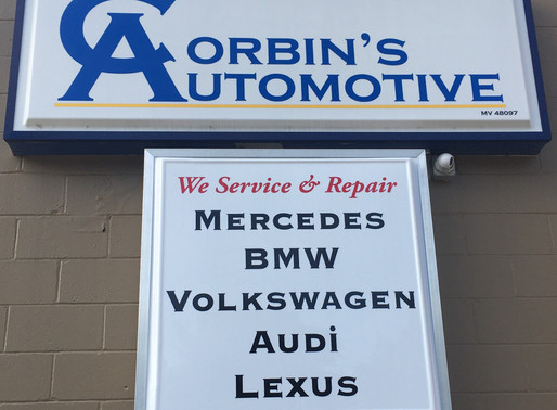 I4E Partners with Corbin's Automotive to create Internship for aspiring Entrepreneur.