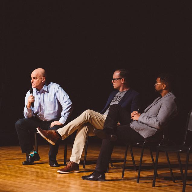 Dave McLaughlin, Lex Miller, & Andy Tarsy