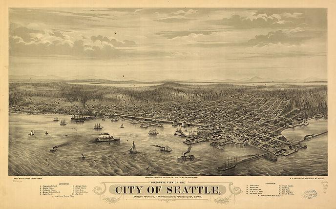 Seattle in 1878