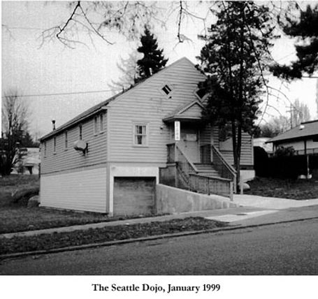 The existing Seattle Dojo building, located here in early 1930s.
