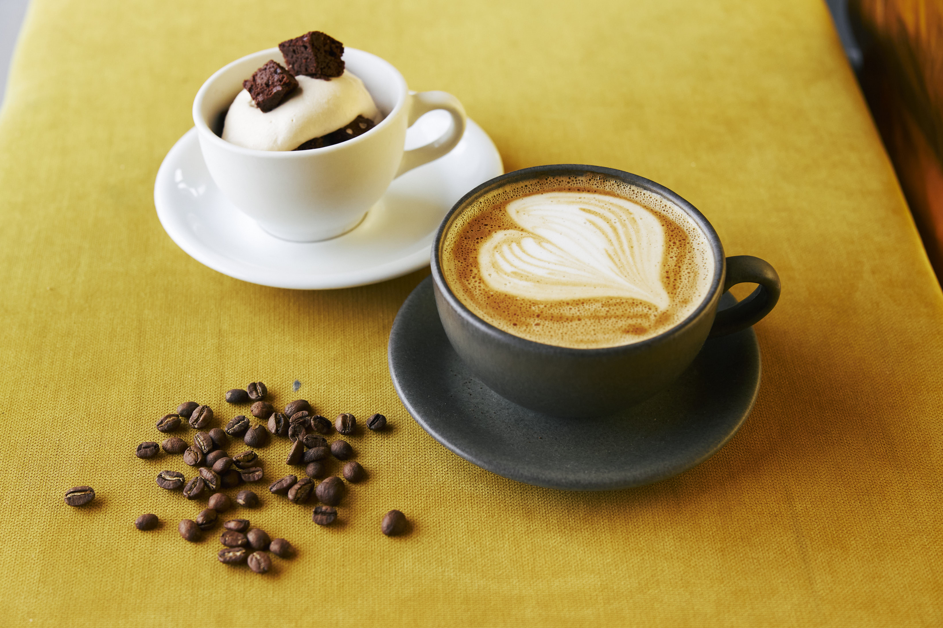 Anam Coffee White Choc Mousse