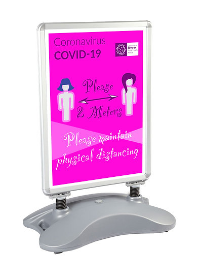 CoVid-19 Physical Distancing Hair Salon Windmaster – A0
