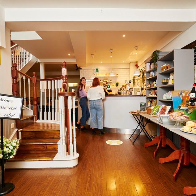 Sweet N Green foyer