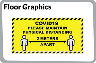 CoVid-19 Floor Graphics