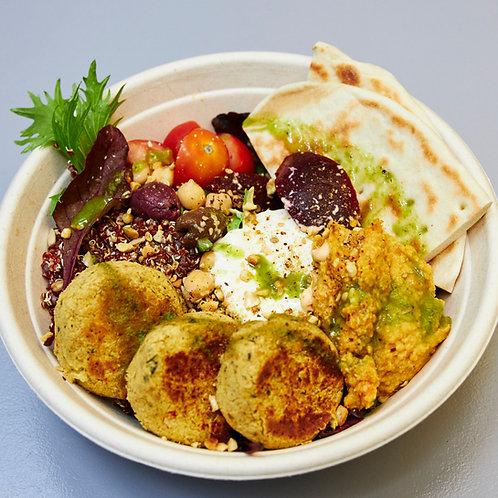 Vegan Falafel Mezze Bowl