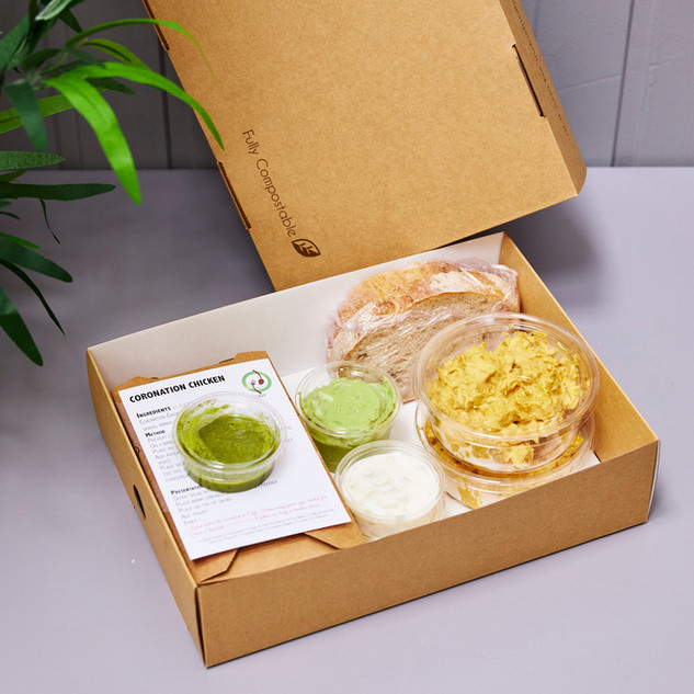 Sweet N Green Coronation Chicken Kit for 2