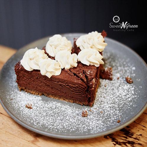 Salted Bailey's and 78% Dark Chocolate Truffle Cake