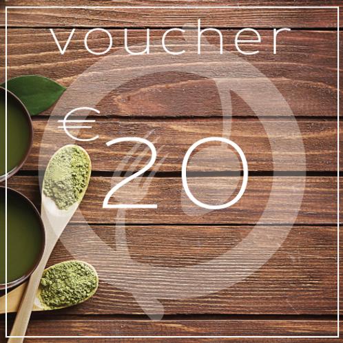 Sweet N Green €20 Voucher