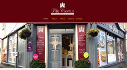 The Castle Coffee House website