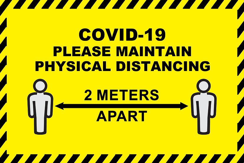 CoVid-19 Safe Distance – A3