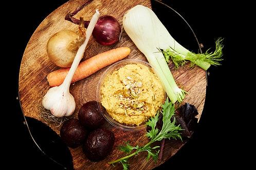 Roast Spiced Carrot & Coriander Hummus