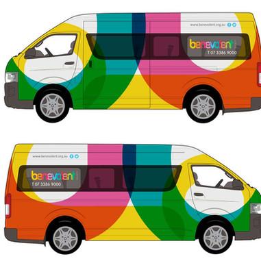 Commuter Bus Branding