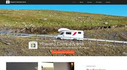 Howard Campervans website