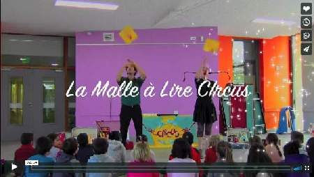 video malle à lire circus