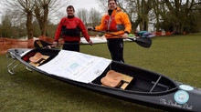 Daring Duo Take on 125 Mile Canoeing Challenge for Charity