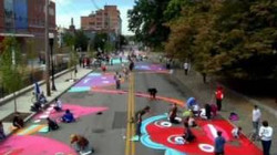 Paint the street