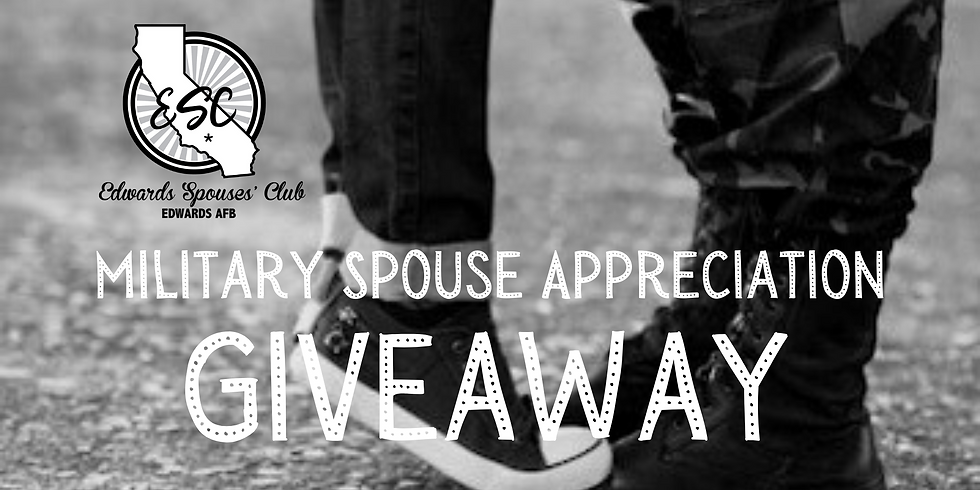 Military Spouse Appreciation Giveaway