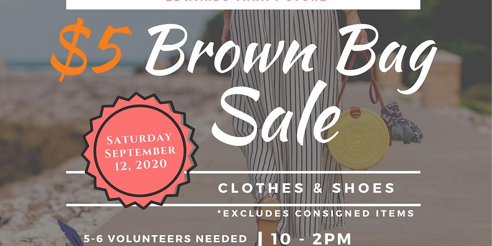 $5 Brown Bag Sale