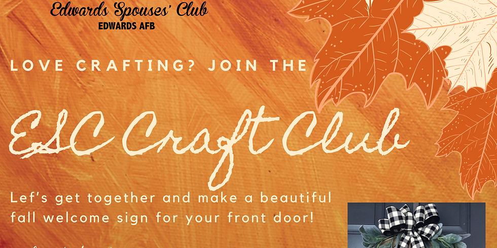 ESC Fall Craft Club