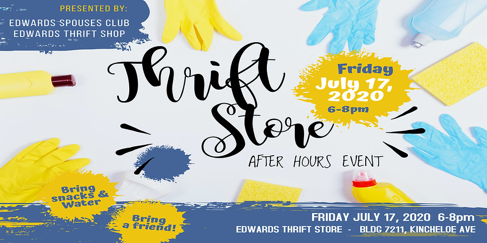 ESC Thrift Store After Hours Event