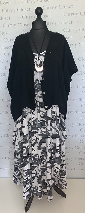 CAMOUFLAGE DESIGN  DRESS