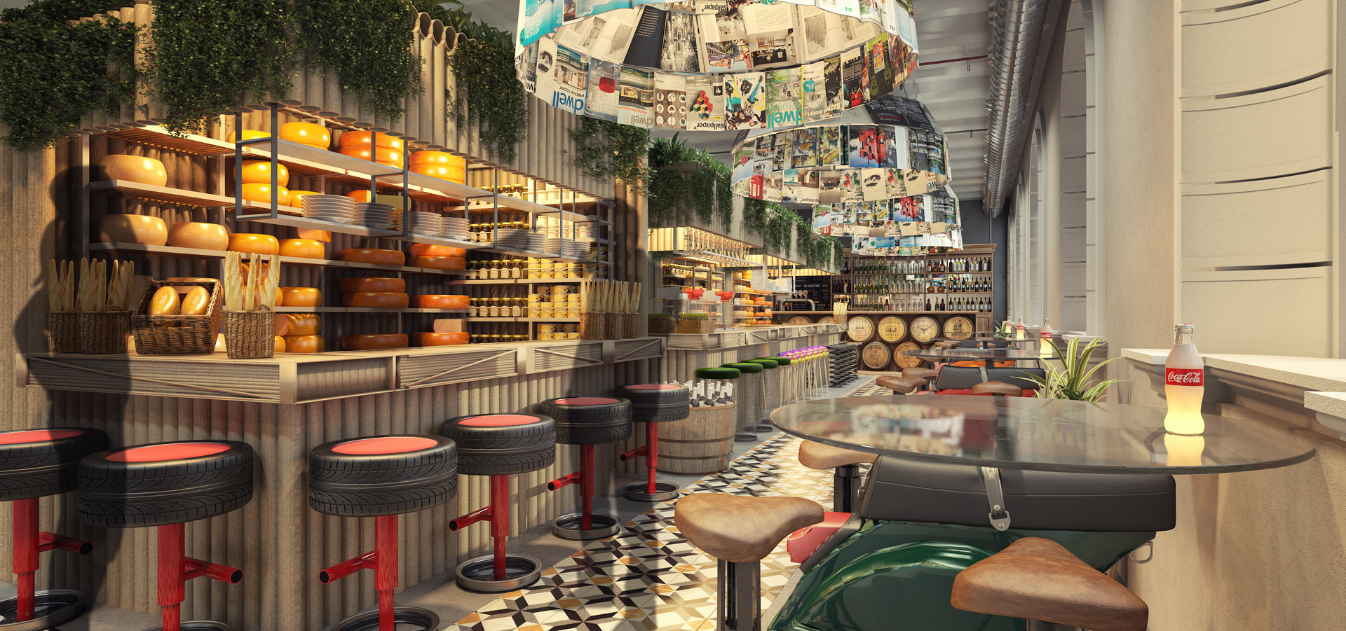 FoodMarket Amsterdam.