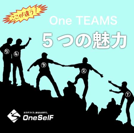 OneTEAMS 5つの価値