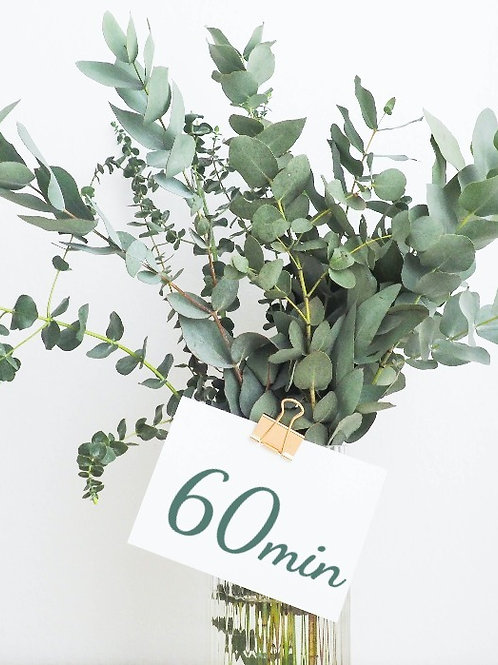 60 Minute Massage Gift Card