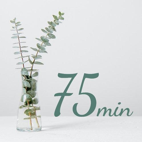 75 Minute Massage Package Prepay