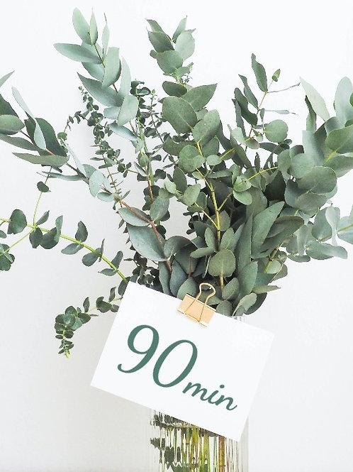 90 Minute Massage Gift Card