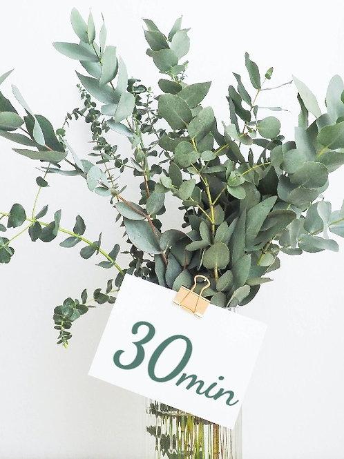30 Minute Massage Gift Card
