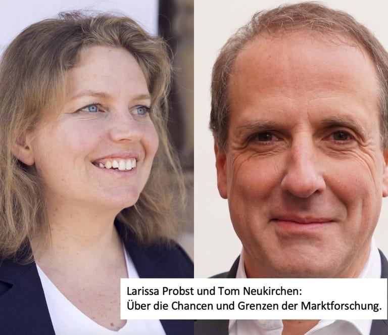 Larissa Probst & Prof. Tom Neukirchen