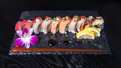 Snow Crab Rainbow Roll