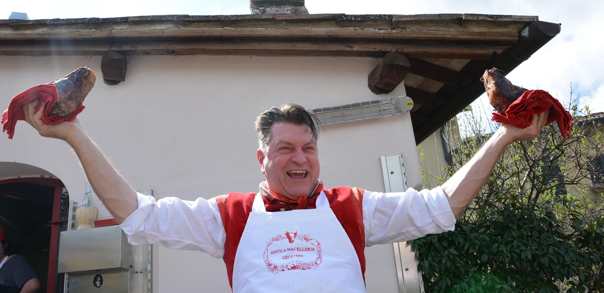 Tour Chianti and have an amazing lunch with Bistecca alla Fiorentina at Dario Cecchini