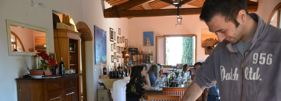Enjoy a typical Tuscan lunch